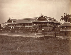 Court House at Tharrawaddy